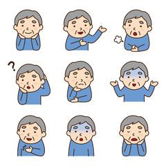 おじいさんの表情_02