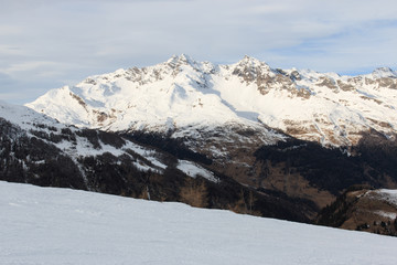 pista da sci a Campodolcino