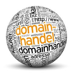 Kugel, Domainhandel, Tags, Word Cloud, Text Cloud, Keyword, 3D