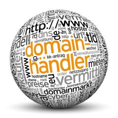 Kugel, Domainhändler, Tags, Word Cloud, Text Cloud, Keyword, 3D
