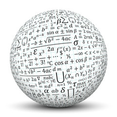 Kugel, Mathematik, Formeln, Formelsammlung, Math, Texture, 3D
