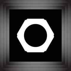 nut vector icon