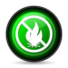 Fire forbidden icon