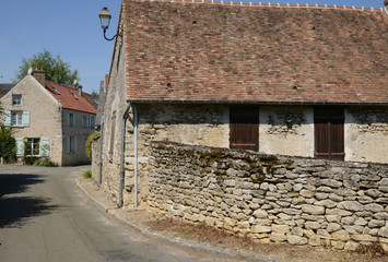France, the picturesque village of Cherence