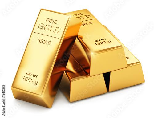 Gold ingots - 76410303