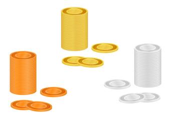 コインの装飾素材