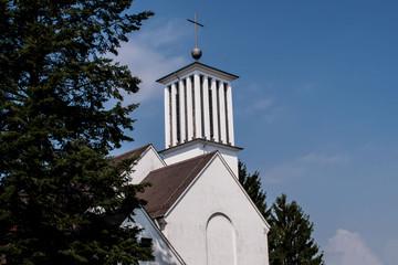 Kirche in Völklingen- Röchlinghöhe