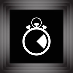 stopwatch vector icon