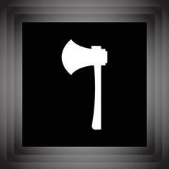 work axe vector icon
