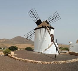 Moulin à vent à Tiscamanita à Fuerteventura