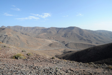 Le Barranco del Roque et Los Cuchillos de Vigán à Las Playitas