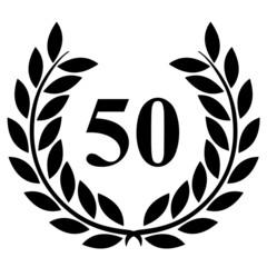 Lauriers 50 sur fond blanc