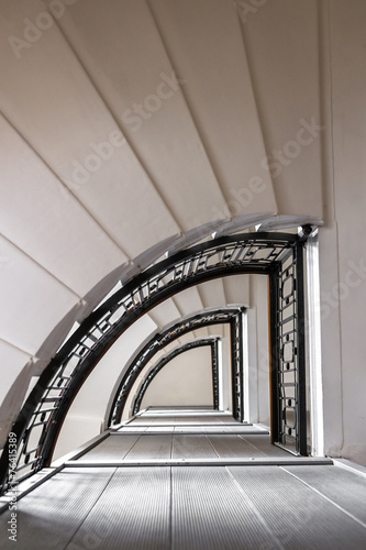 canvas print picture Stairwell