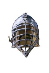 Knightly helmet