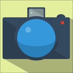 camera flat design.