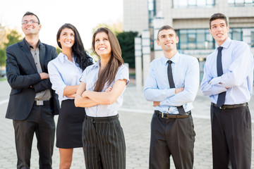 Young Successful Business People