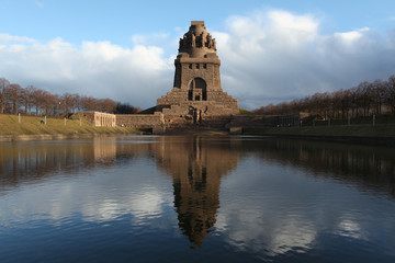 Monument to the Battle of the Nations in Leipzig, Saxony, German
