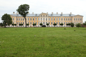 Rundale Palace designed by Bartolomeo Rastrelli near Pilsrundale