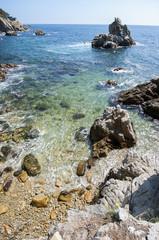 View of LLoret de Mar.Catalonia.Spain