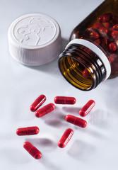 şişe cam tıbbi ilaçlar