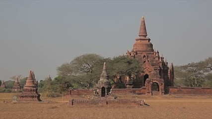 Ancient stupa in Old Bagan