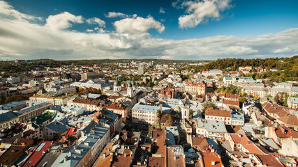 Lviv from a height