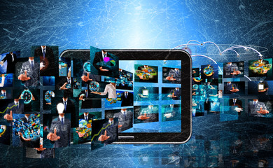 Television anTelevision and internet production .technology and