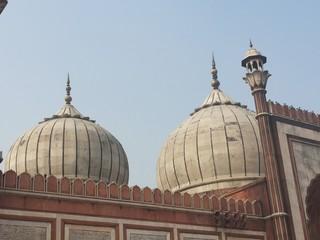 domes of jama masjid