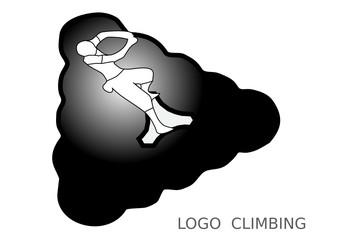 Logo climbing