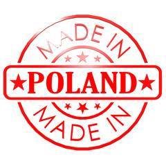 Made in Poland red seal