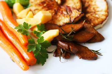 Veganes Essen mit Seitan