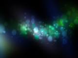 Fototapety Multicolor abstract background with bokeh lights