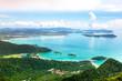 Leinwanddruck Bild - Tropical Langkawi Island landscape, Malaysia