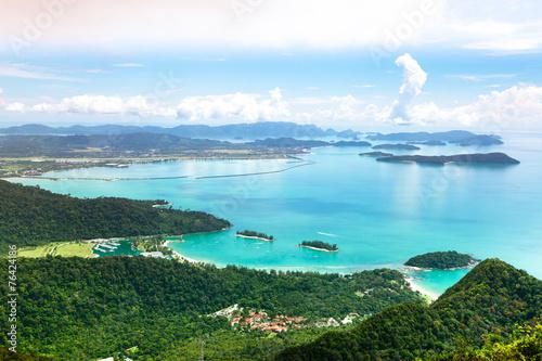 Tropical Langkawi Island landscape, Malaysia - 76424186