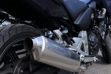particolare costruttivo del telaio di motocicletta sportiva