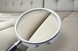 Leinwanddruck Bild - Qualitätstest Polstermöbel