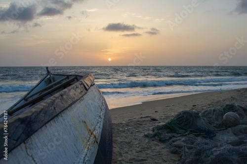 Papiers peints Autre Afrique Strand von Freetown