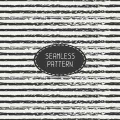 Pencil stripes. Scribble lines seamless patterns. Abstract hand