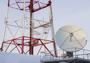 Television transmitting device