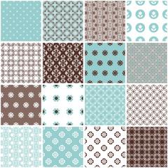 Seamless pattern big set.