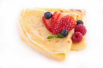 crepe and berry