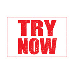 Try now stamp