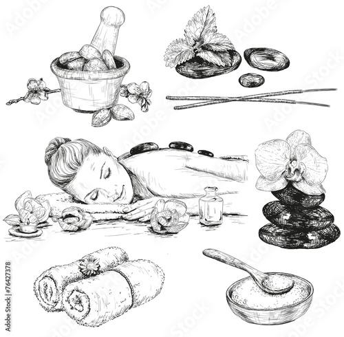 Spa sketch set - 76427378
