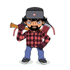 Woodcutter.