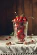 Стакан с ягодами