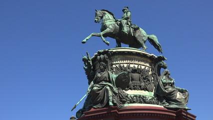 Monument to Emperor Nicholas I. St. Petersburg. 4K.