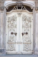 Old decorative door, Wroclaw, Poland