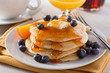 Blueberry Pancakes - 76431325