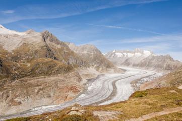 Bettmeralp, Dorf, Aletschgletscher, Wallis, Alpen, Schweiz