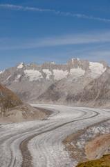 Bettmeralp, Dorf, Gletscher, Alpen, Wallis, Aletsch, Schweiz